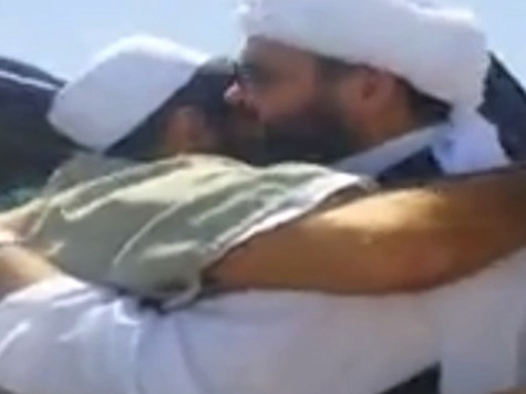 Watch: Video Reportedly Showing Released Taliban Given Hero's Welcome