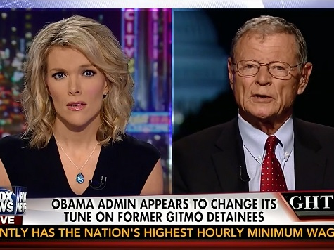 Inhofe: Bergdahl Swap Part of Obama's 'Obsession to Close Gitmo'
