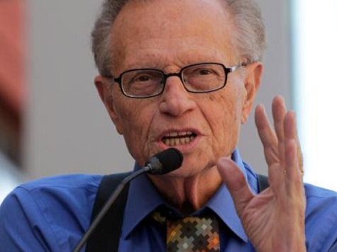 Larry King: Obama Is a 'Dichotomy,' 'in Over His Head'