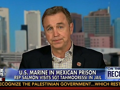 Rep. Salmon to Obama: 'Get Off Your Duff' for Marine Stuck in Mexico