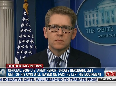 Carney: No Asterisk on 'Leave No Man Behind,' Deal Didn't Require Congressional 'Permission'