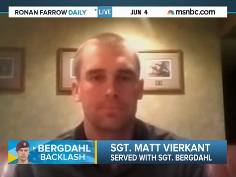 Fellow Sgt: Bergdahl's Desertion 'Makes All the Difference'
