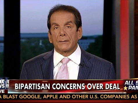Krauthammer on Bergdahl Deal: 'I Would Have Made that Same Choice'
