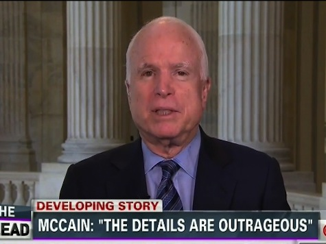'The Details Are Outrageous': McCain Attacks CNN's Tapper Over Hypocrisy Claims on Bergdahl