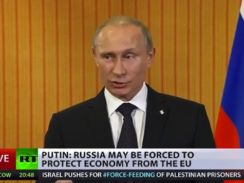 Putin: Russia May Be 'Forced to Protect Its Economy'