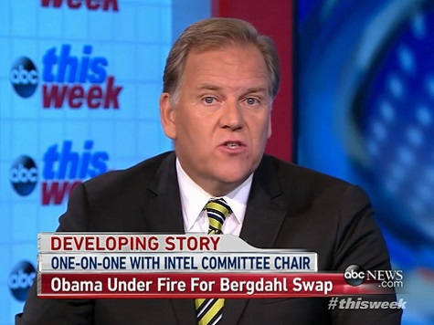 House Intel Chair: Bergdahl Swap Empowered the Taliban