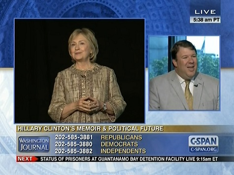 Allen: Hillary Will Have 'Difficulty' Distancing Self from Obama