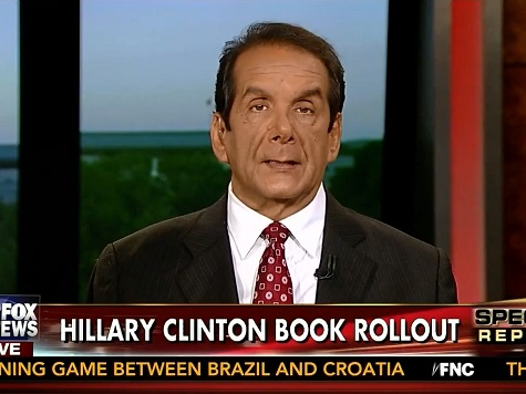 Krauthammer: Hillary's Effort to Put Benghazi to Bed with Book 'Not Going to Work'