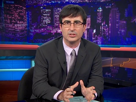 Watch: John Oliver Mocks Chris Matthews Claims of Employment for Tip O'Neill
