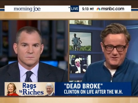 Scarborough Mocks Hillary's 'Dead Broke' Remarks
