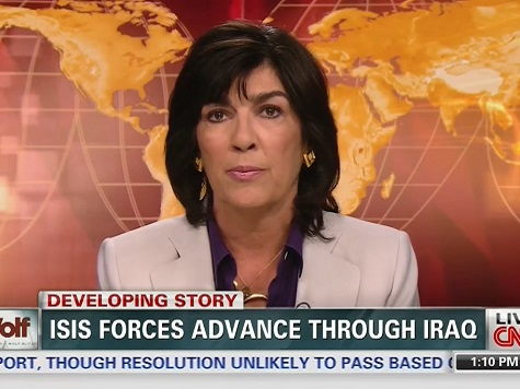 CNN's Amanpour: Iraq Undermines WH Narrative on Afghanistan