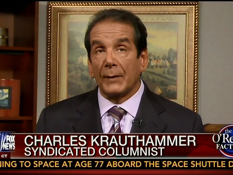 Krauthammer: Obama Has 'Set Back the Cause of Liberalism,' 'Ruling Like a Banana Republic'
