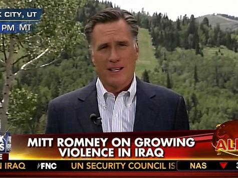 Romney on VA, Iraq: I Told You So