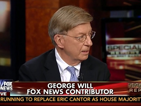 George Will: Iraq Situation a Product of 'Implementing the Foreign Policy' Obama Promised