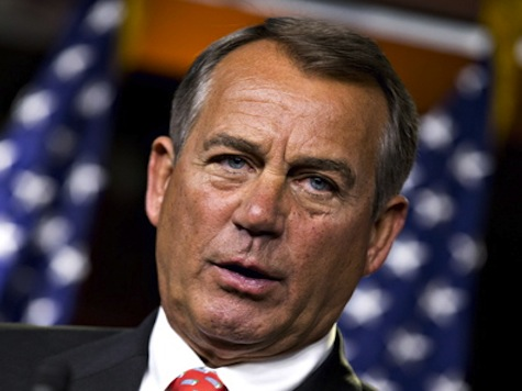 Boehner on Iraq: 'What's the President Doing? Taking a Nap'