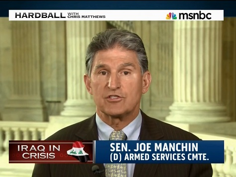 Dem Sen Joe Manchin Open to Air Strikes in Iraq, Against Ground Troops