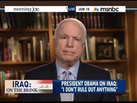 A Combative McCain Takes on Mika Brzezinski, Sam Stein on Iraq