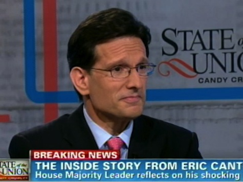CNN Asks Cantor If Loss Due to Anti-Semitism