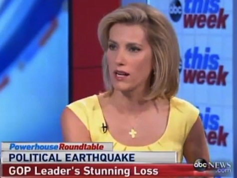 Ingraham Blasts Cantor: 'Can't Take a Joke' Is Probably 'Why He Lost'