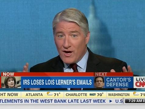 CNN Panel Mocks Lerner's Email Defense