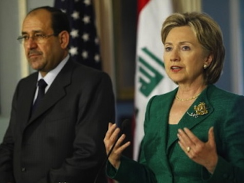Clinton Calls For Maliki To Step Down