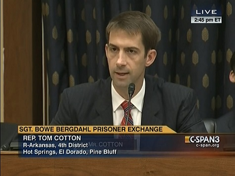 Cotton Rips Obama Administration over Bergdahl Swap