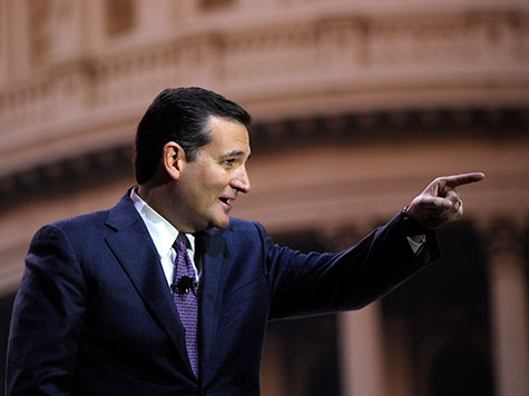 Cruz Rips Senate Dems for Rejecting Text of First Amendment
