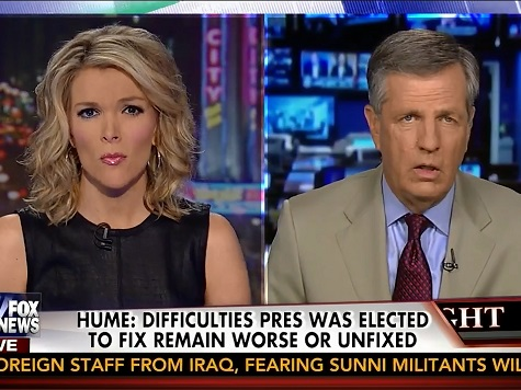 Hume Rips Obama Economic, Foreign Policy: 'I Think We're Looking at a Failed Presidency'