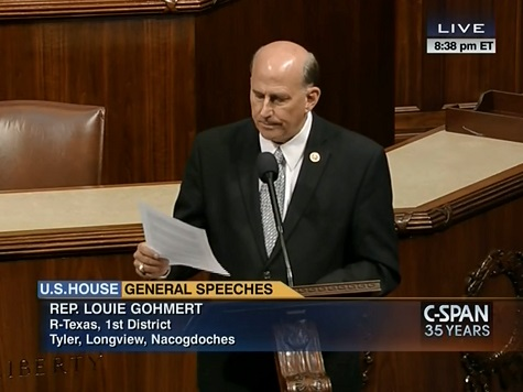 Rep Louie Gohmert Cites Breitbart Texas' Sylvia Longmire on House Floor