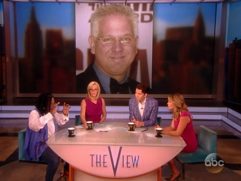 'The View' Co-Host Whoopi Goldberg Declares Glenn Beck 'Unlikely Ally' of the Left