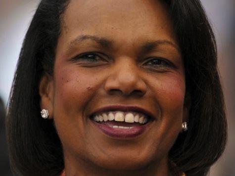 Condoleezza Rice to Disrupting Protesters: 'Democracy Is 'Noisy'