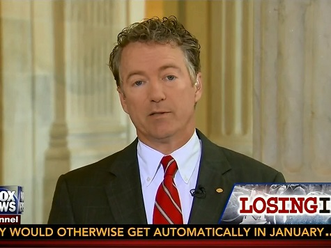 Rand Paul Urges Congressional Vote Before Air Strikes on Iraq