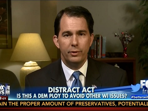 Scott Walker: 'No Doubt' Media, Left Trying to Do to Me What They Did to Chris Christie