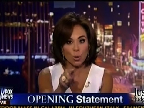 Judge Jeanine on Obama: 'You Didn't Have the Balls' to Prosecute Terrorists in Gitmo
