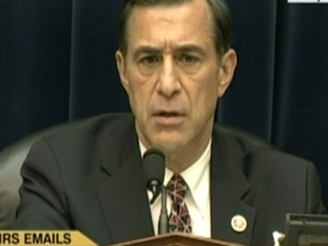 Issa Blasts IRS Commish for Suggesting WH Is Trustworthy But Congress Isn't