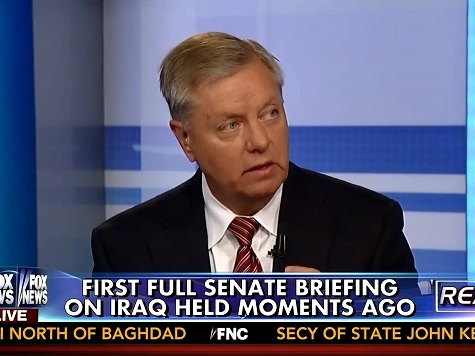 Lindsey Graham: Bomb ISIS in Syria, Iraq or Face Another 9/11