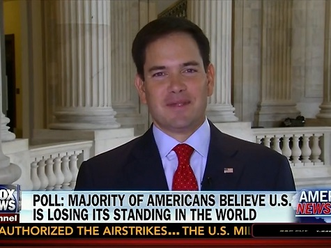 Rubio Rips Media on IRS: Would Be Lead Story in Every Newspaper if Under Bush