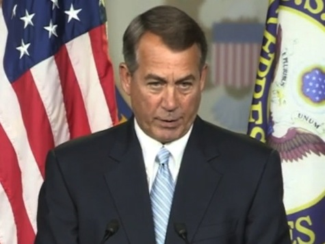 Boehner: In My View, Obama Has Not Faithfully Executed the Law