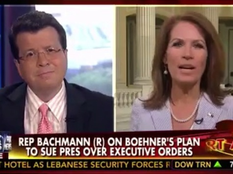 Fireworks Erupt Between Bachmann, Cavuto: 'Rome Is Burning While You File'