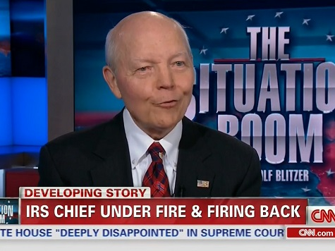 IRS Boss: 'I've Never Been a Partisan Operative or Political Operative'