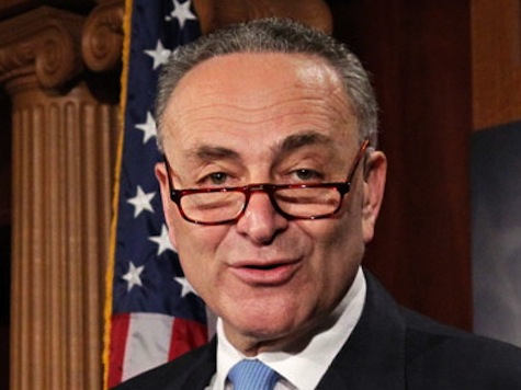 Schumer Urges GOP to Pass Immigration Now that Tea Party Has Peaked