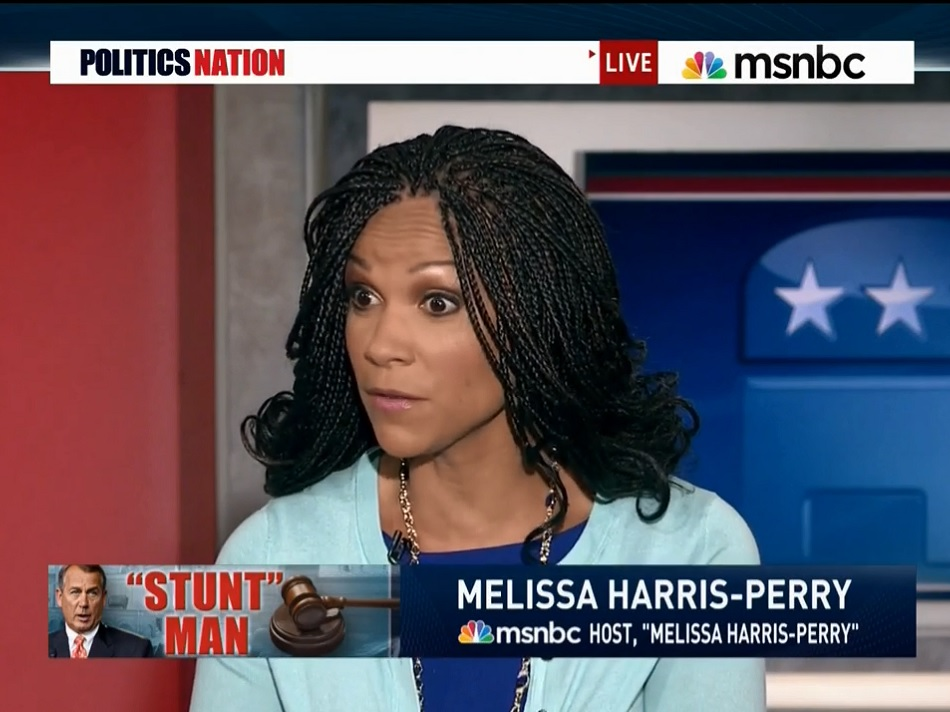 MSNBC's Melissa Harris-Perry: GOP Wants To 'Humble' 'Uppity' Obama