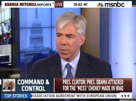 David Gregory, Andrea Mitchell Criticize Bill Clinton's Iraq Hypocrisy
