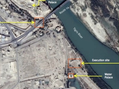 Satellite Images Reveal ISIS Massacre