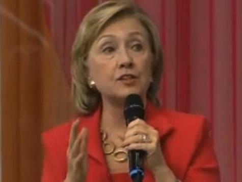 Hillary Clinton: Hobby Lobby Decision Deeply Disturbing