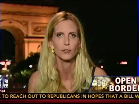 Coulter: 'What We Need Now Is an Immigration Moratorium, Both Legal and Illegal'