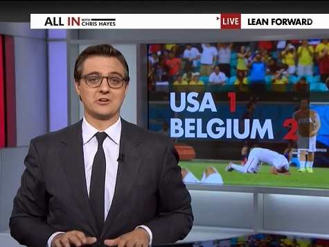Chris Hayes: Embracing Soccer Is Accepting 'the US Cannot Simply Assert Its Dominance'