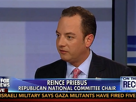 RNC Chair Priebus: Obama 'Views His Presidency More as a Kingship'