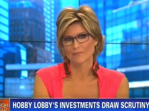 CNN's Banfield Attacks Hobby Lobby for 401(k) that Includes Plan B Pharmaceutical Co