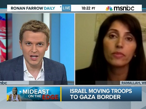 Farrow Equates Israeli and Palestinian 'Extremism in the Leadership'